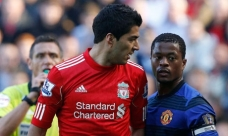 Suarez and Evra will meet this Sunday at Anfield